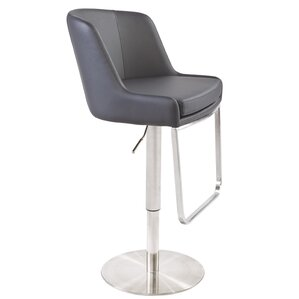 Clower Bar Stool with Square Seat by Orren Ellis