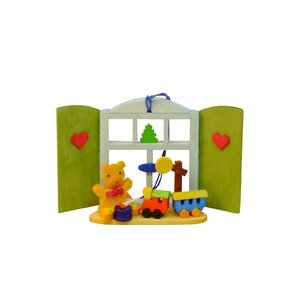 Graupner Teddy with Toys/Window Ornament