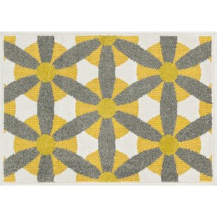 Laudenslager Yellow/Gray Indoor/Outdoor Area Rug