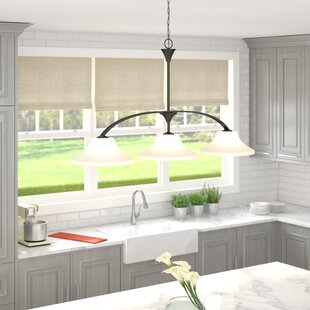 Andover Mills Olsson 3-Light Kitchen Island Pendant