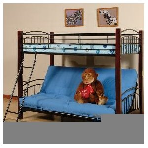 Pelzer Twin over Full Futon Bunk Bed by Harriet Bee