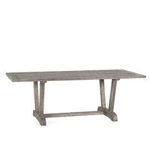 Alesandra Solid Wood Dining Table by Gracie Oaks