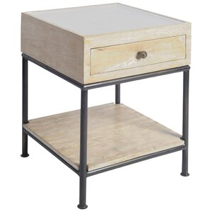 Chesney End Table by Gracie Oaks