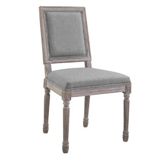 Vasbinder Vintage French Upholstered Dining Chair