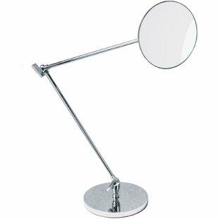 Symple Stuff Kowalczyk Adjustable Swivel Makeup/Shaving Mirror