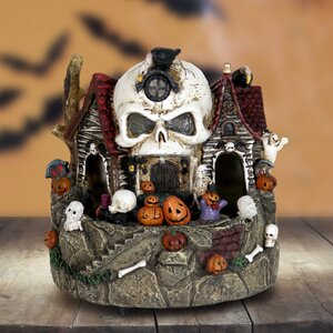 Skull House with Battery Powered Timer