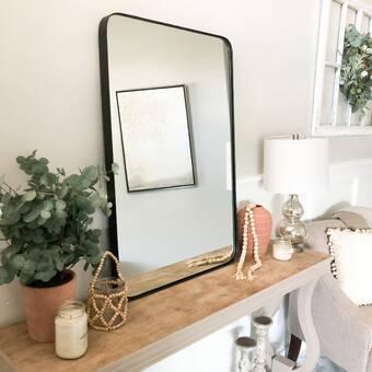 Charlton Home Kollman Bathroom Vanity Mirror Wayfair