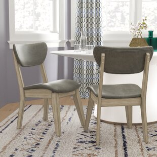 Fernwood Upholstered Dining Chair (Set Of 2) by Brayden Studio 2019 Sale