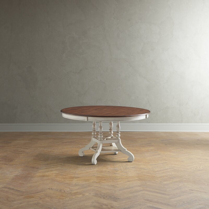 Merveilleux Dalton Round Extending Dining Table