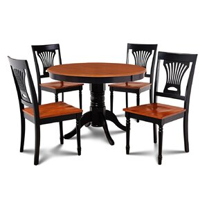 Cedarville Contemporary 5 Piece Dining Se..