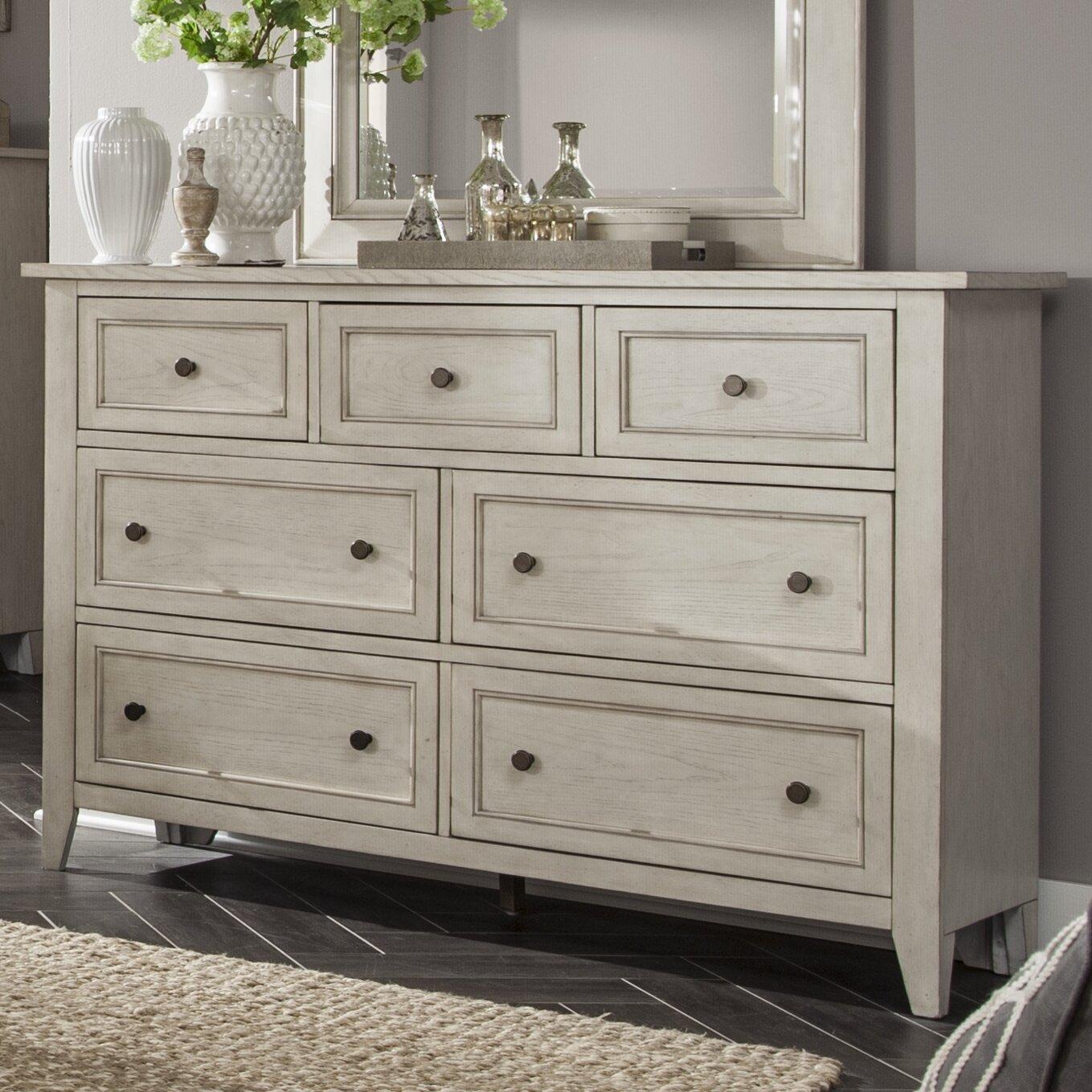 Stoughton 7 drawer dresser reviews birch lane