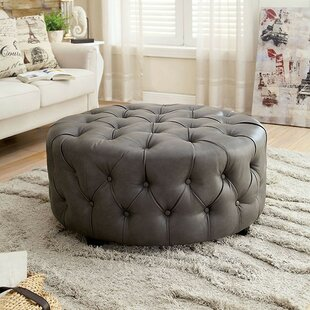 Vester Tufted Cocktail Ottoman by House of Hampton