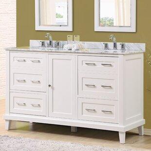 Fairlee 60 Double Bathroom Vanity Set by Latitude Run