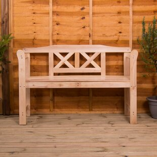 Mollie Wooden Bench By Sol 72 Outdoor
