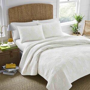 Palm Springs Cotton Reversible Quilt Set