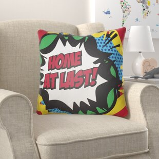 Cassidy Home At Last Throw Pillow