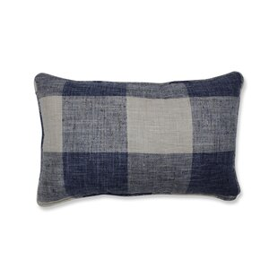 Bollinger Indoor Check Rectangular Lumbar Pillow