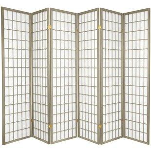 Trevor Shoji 6 Panel Room Divider ByWorld Menagerie