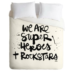 East Urban Home Superheroes Duvet Cover Set