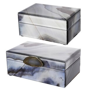 Affordable 2 Piece Jewelry Box Set By Mercer41