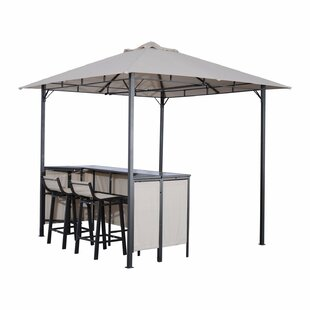 Latitude Run Crown Outdoor 3-Piece Bar Set