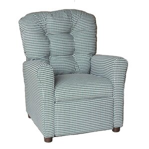 Houndstooth Kids Recliner by Brazil Furniture