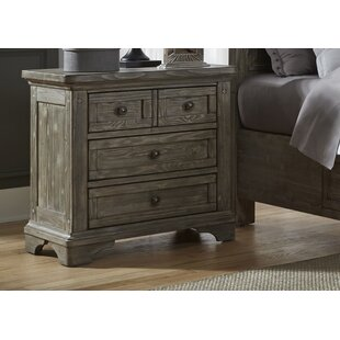 Darby Home Co Barkell 3 Drawer Nightstand