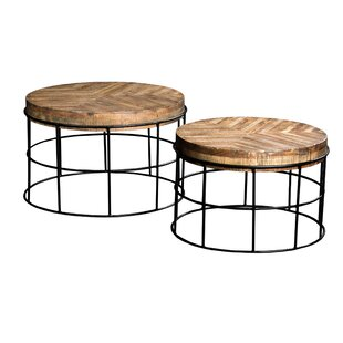 Woodland 2 Piece Coffee Table Set by 17 Stories
