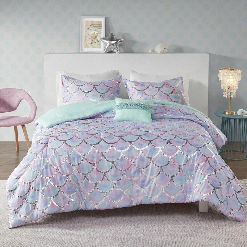 Highland Dunes Overturf Printed Reversible Comforter Set Reviews Wayfair