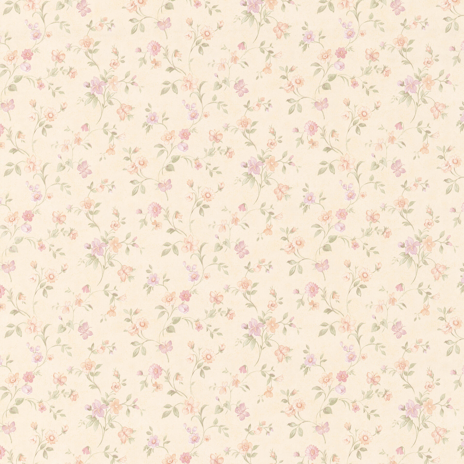 Brewster Home Fashions Cindy Floral Trail 33 X 20 5 Wallpaper