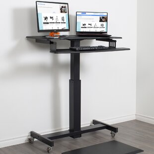 Brunswick Height Adjustable Standing Desk by Symple Stuff Today Only Sale