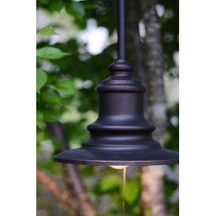 Wildon Home ® Broadcast 1-Light Bell Pendant