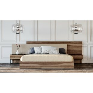 Nohlan Italian Upholstered Platform Bed by Mercury Row