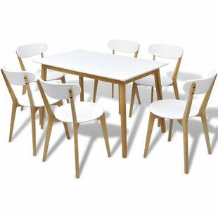 Jameown Dining Set With 6 Chairs By George Oliver