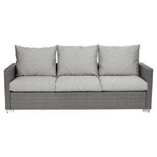Ivy Bronx Mcmanis 6 Piece Rattan Sofa Seating Group with Cushions