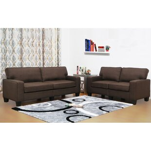 Charlee 2 Piece Living Room Set by Winston Porter