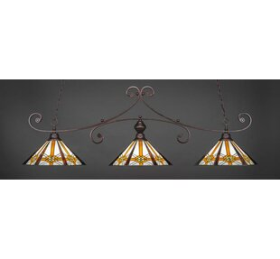 Astoria Grand Copeland 3-Light Billiard Pendant