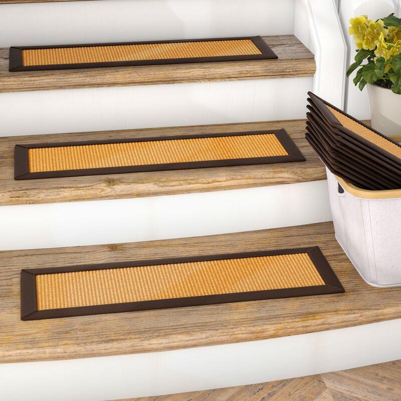 Charmant Dawes Sisal Carpet Gold Stair Tread