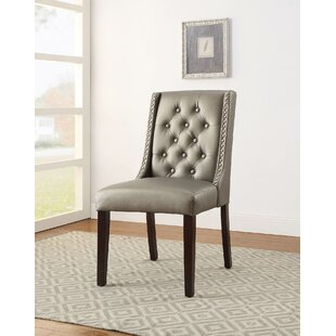 Knuth Upholstered Dining Chair (Set of 2) House of Hampton