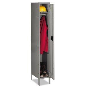 Single Tier Locker Storage Cabinet by Tennsco Corp.