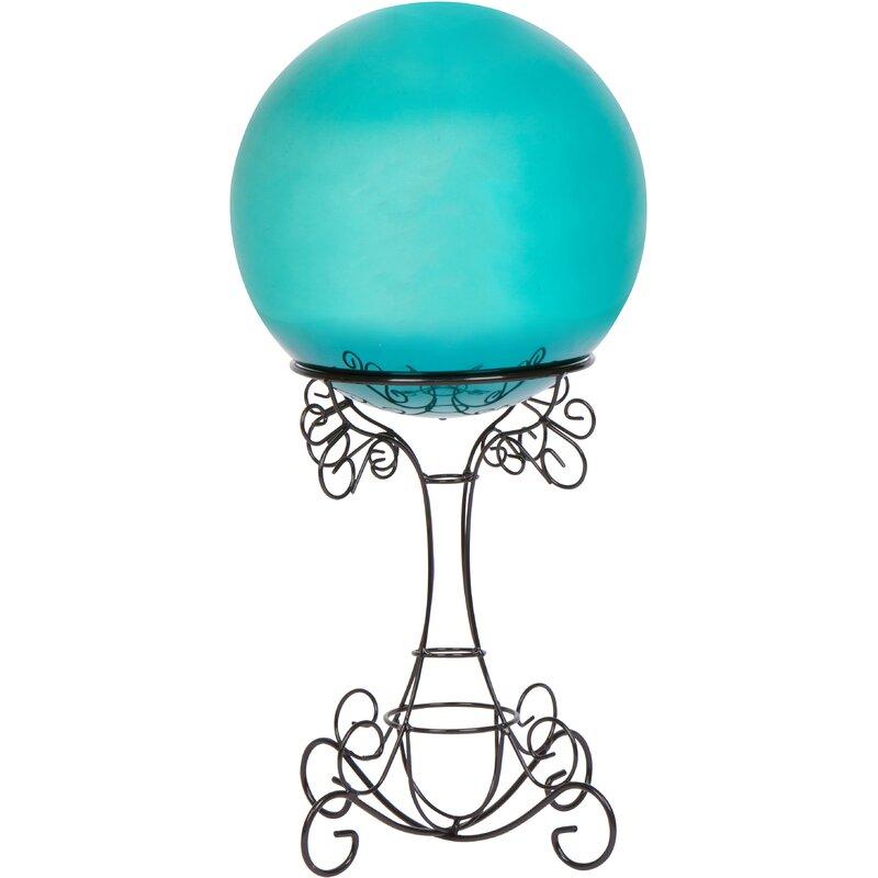 Trademark Innovations 2 Pieces Gazing Ball And Stand Set Wayfair