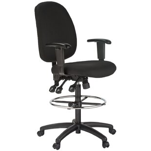 Harwick Furniture Mid-Back Drafting Chair