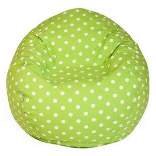 Telly Polka Dots Bean Bag Chair ByViv + Rae