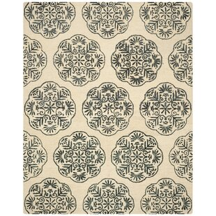 Budget Rudra Ivory/Charcoal Area Rug ByBungalow Rose
