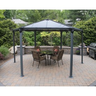 Monaco 13 Ft. W x 15 Ft. D Aluminum Patio Gazebo by Palram