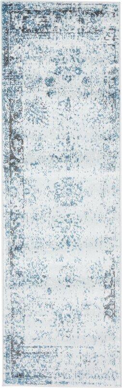 brandt light blueivory area rug