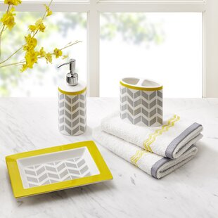 Save to Idea Board Yellow Bathroom Accessories You ll Love  Wayfair