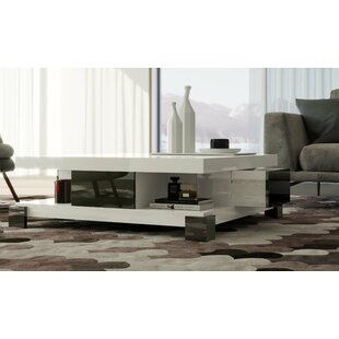 Cansler Coffee Table with Storage by Orren Ellis