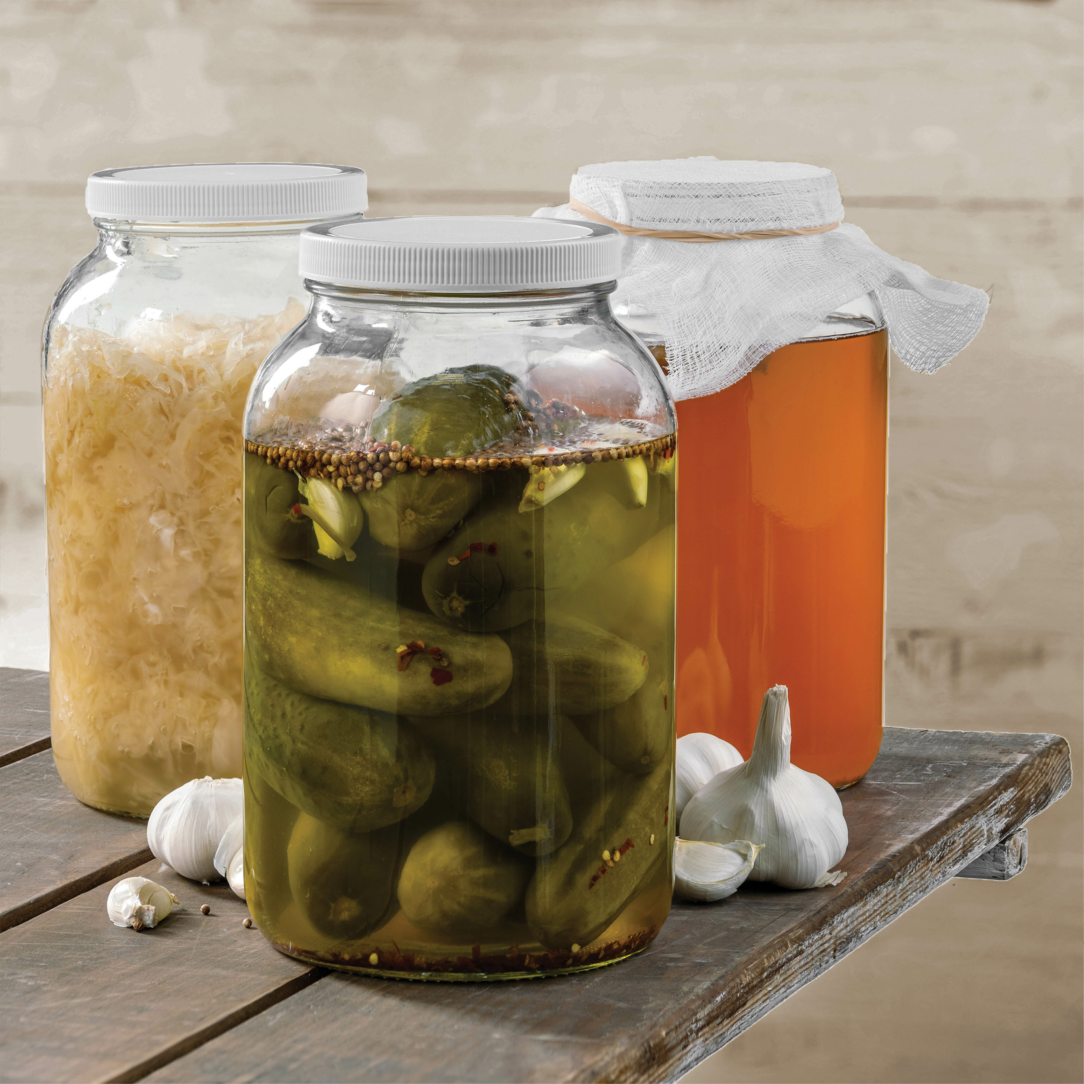 Pakshnovelty Glass Wide Mouth 4 Qt Canning Jar Reviews Wayfair