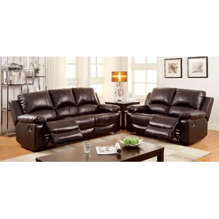 Hokku Designs Luria Reclining Configurable Living Room Set